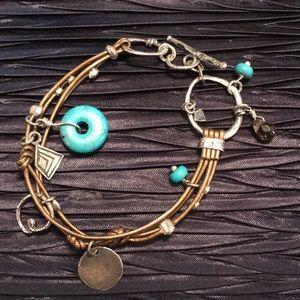 🎁SILPADA B2086 Silpada Bronze Leather Bracelet